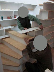 escalier projet